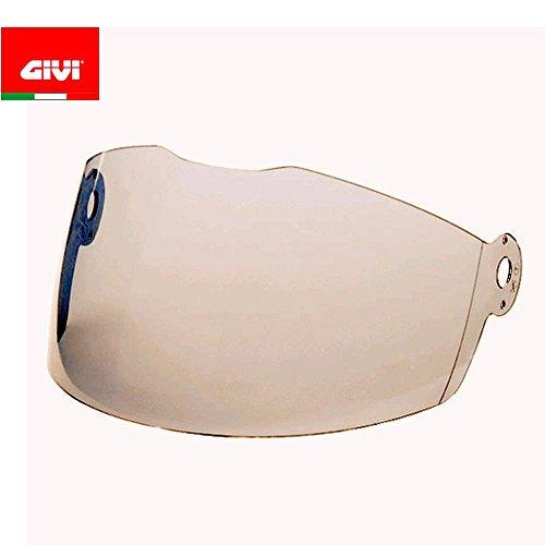 GIVI Casco jet visiera trasparente per HPS, Nero, Taglia 40
