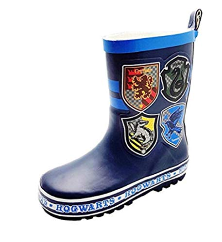 GladRags Boys Wellington Boot Harry Potter Wellies Size 8 9 10 11 12 13 1 2 3 Infant - Junior