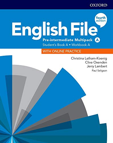English File 4th Edition Pre-Intermediate. Multipack