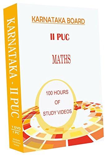 AVNS INDIA Karnataka II Year PUC - Maths Full Syllabus Teaching Video (DVD)
