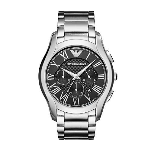 Emporio Armani Orologio Cronografo Quarzo Uomo con Cinturino in Acciaio Inox AR11083