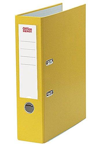 office-depot-ordner-din-a4-gelb-ringe-80-mm-mit-auswechselbarem-ruckenschild