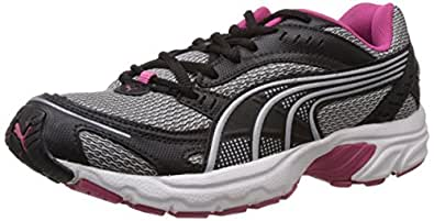 Puma Women's Axis II Wn's Ind. Black Puma and Silver Rasrose Running Shoes - 4 UK/India (37 EU)