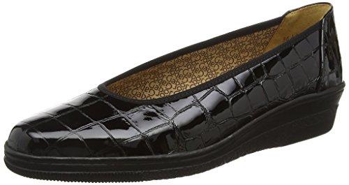 Gabor Shoes Comfort Basic, Mocassini Donna, Nero (Schwarz 97), 42.5 EU
