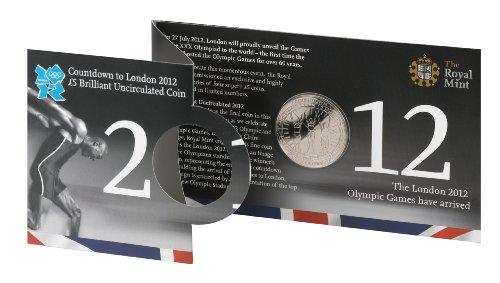 Gedenkmünze / Sammlermünze, Olympische Spiele 2012, £ 5, Royal Mint -