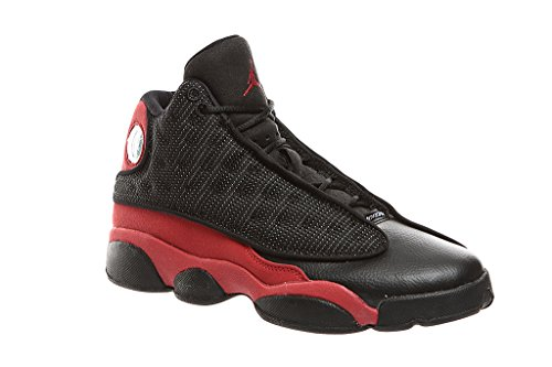 Nike Jordan Jungen Vorschule Retro 13Basketball Schuhe Schwarz, 6 M US Großes Kind (Air Jordan Für Große Kinder)