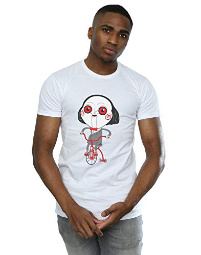 Pepe Rodriguez Herren Billy The Puppet T-Shirt Weiß X-Large