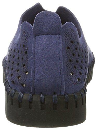 Ilse Jacobsen Damen Slip-in Sneaker Blau (Navy)