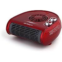 Orbegozo FH 5033 - Calefactor eléctrico con termostato regulable, 2500 W de potencia, 2 posiciones de calor y función ventilador