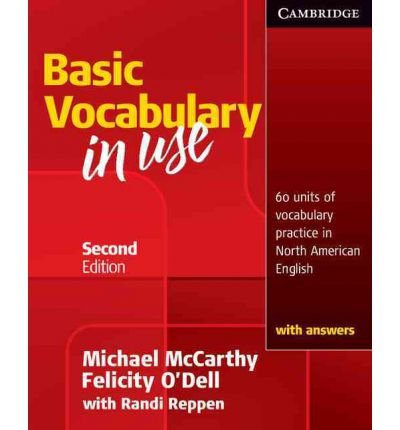 Basic Vocabulary in Use: 60 Units of Vocabulary Practice in North American English with Answers (Vocabulary in Use) McCarthy, Michael ( Author ) Jan-26-2010 Paperback