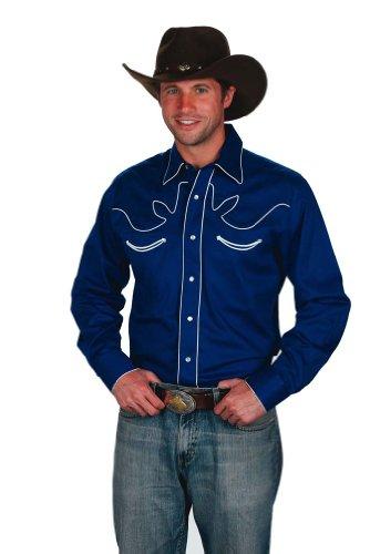 western-express-chemise-habillee-avec-boutons-manches-longues-homme-bleu-xxx-large
