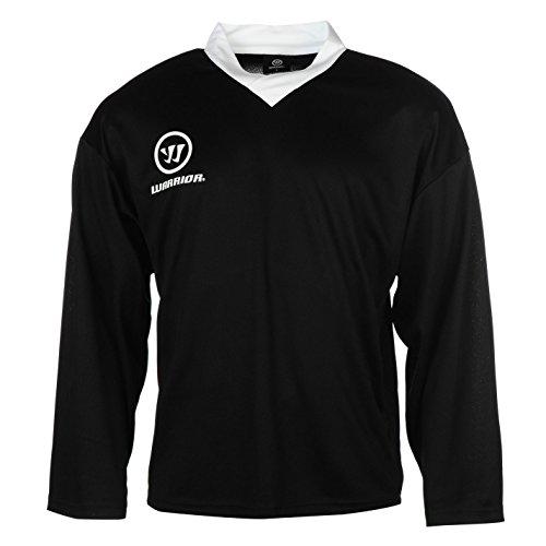warrior-herren-practice-training-trikot-v-ausschnitt-langarm-eis-hockey-shirt-schwarz-medium