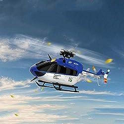AXJJ Pantalla RC de helicóptero RTF 6CH Brushless 3D / 6G con Pantalla Grande de Cristal líquido