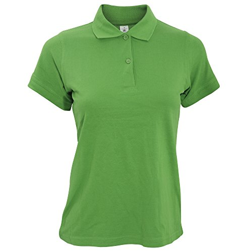 B&C Safran - Polo - Femme Vert