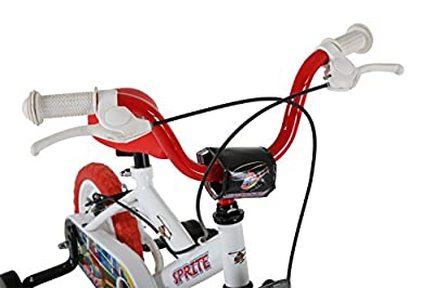 Sonic Sprite Kids Bike, White/Red from Sonic