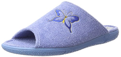 Hans Herrmann Collection Damen Hhc Pantoffeln Blau (AGUA)