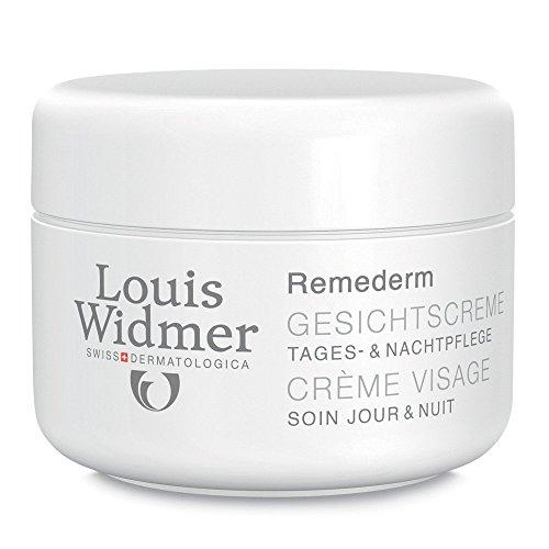 Louis Widmer Remederm Gesichtscreme Tages-und Nachtpflege unparfuemiert
