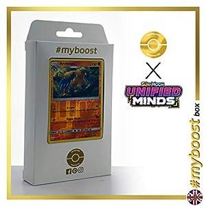 Archeops 121/236 Holo Reverse - #myboost X Sun & Moon 11 Unified Minds - Box de 10 cartas Pokémon Inglesas