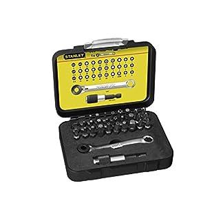 Stanley 1-13-905 Juego puntas destornilladores + llave con sistema carraca 32 piezas
