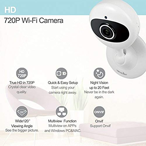 Wansview Security Camera ,720P WiFi Wireless IP Camera With