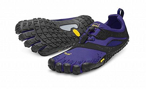 Vibram FiveFingers Damen Spyridon MR Outdoor Fitnessschuhe, Mehrfarbig (Purple/Black), 39 EU