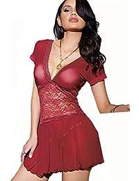 9c7549ec5fab Amazon.es: pijamas mujer tallas grandes - Últimos tres meses ...