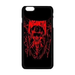 "Creative Design Life Music Band 4 Megadeth Fashion Cover Hard Plastic Case For iPhone 6 4.7"""