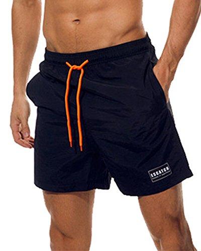 Imixcity Hombre Bañadores Natación Pantalones Cortos
