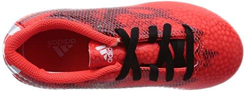 adidas F5 Fxg J, Chaussures de Foot Mixte Enfant Rouge