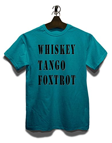 Whiskey Tango Foxtrot T-Shirt Türkis