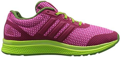 Adidas Performance Mana Bounce Laufschuh, schwarz / Schock Grün / Sonne Glow Gelb, 5 M Us Bold Pink/Prism Blue/Shock Pink
