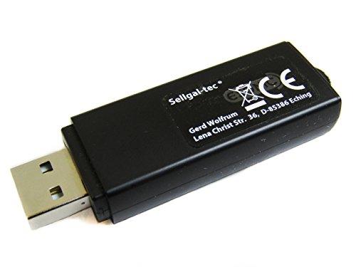 sellgal-tec  ® MQ-U350DE Plus USB-Stick 8GB Diktiergerät Wanze mit Aufnahmeaktivierung durch Geräusche oder Daueraufnahme Funktionen, anthrazit