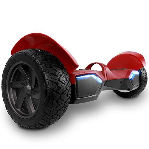 Colorway Offroad-Hoverboard Elektroroller 8.5 '' SUV Hummer Gelände intelligenter Self Balance Scooter Board Hover Fantastische LED-glühende Räder mit Bluetooth