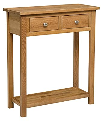 New solid Waverly Oak Console Telephone Phone Table Hallway Plant Lamp Study Laptop Computer Table Dressing Desk