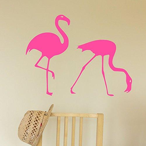 2 Flamingos Decal...