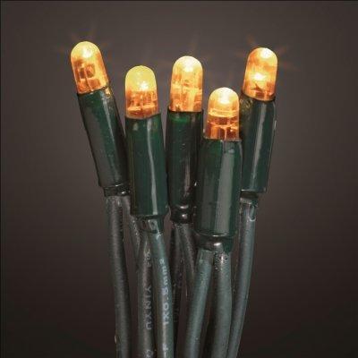 Hellum 555011 LED-Energiespar Lichterkette System Profi Basis-Set, warm-weiß, 40-teilig, Gesamtlänge 5,4 m, für Innen/Außen von Hellum - Lampenhans.de
