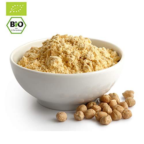 3000g Bio Kichererbsenmehl in stabilem Kraftpapiersack (Plastikfrei) | 3 kg | ✔ zum backen und kochen | 100% Bio | vielseitig Einsetzbar Kichererbsen Mehl | STAYUNG