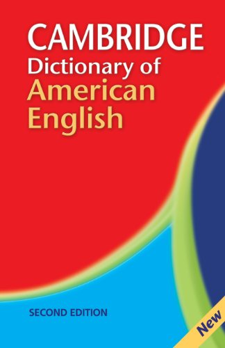 Cambridge Dictionary of American English 2nd Paperback