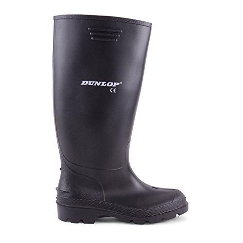 Dunlop - bottes en caoutchouc homme - wellies - noir Noir