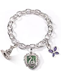 Lumos Slytherin Charm Bracelet by Noble Collection