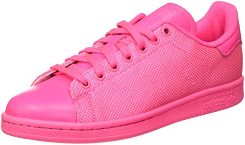 adidas Stan Smith, Baskets Basses Homme Rose (Solar Pink/Solar Pink/Solar Pink)
