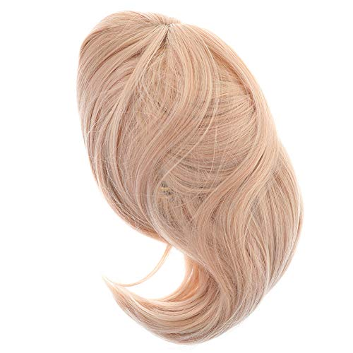 FANCYLEO EU 40cm Fate Grand Order Okita Souji Saber Perücke Frauen Damen Haar Lang Wig für Karneval Fasching Cosplay Party Kostüm Blond Weiblich