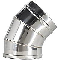 Convesa KCCC12 - Codo para chimenea 45º (diámetro 125/175 mm)
