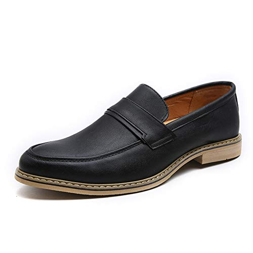 Feidaeu Mens Formal Dress Schuhe Leder Hochzeit Schwarz Weiß Loafers Casual Wohnungen Oxford Business-Schuhe Mezlan Lace-up Oxfords