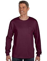 Hanes Cool DRI Performance Men's Long-Sleeve T-Shirt_Safety Green