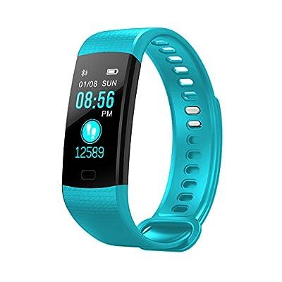 TechCode Y5 Smart Wristband Color Screen Watch Blood Pressure Heart Rate Monitor Bracelet Activity Fitness tracker Pedometer waterproof Smart Tracker from TechCode