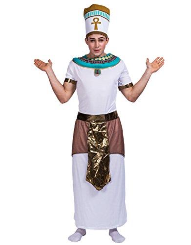 EraSpooky Herren ägyptischen König Pharao Kostüm