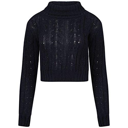 Comfiestyle - Sweat-shirt - Pull - Femme Noir - Noir