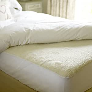 Beurer Monogram Tranquility Fully Fitted Fleecy King Size Heated Underblanket and Mattress Cover with Dual Controllers