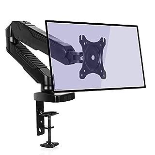 SIMBR Monitor Arm Ständer Schreibtisch Halterung für 38,1cm–68,6cm LCD-LED und max VESA 100x 100mm bis zu 6,5kg (14.3lbs) Gewicht Kapazität